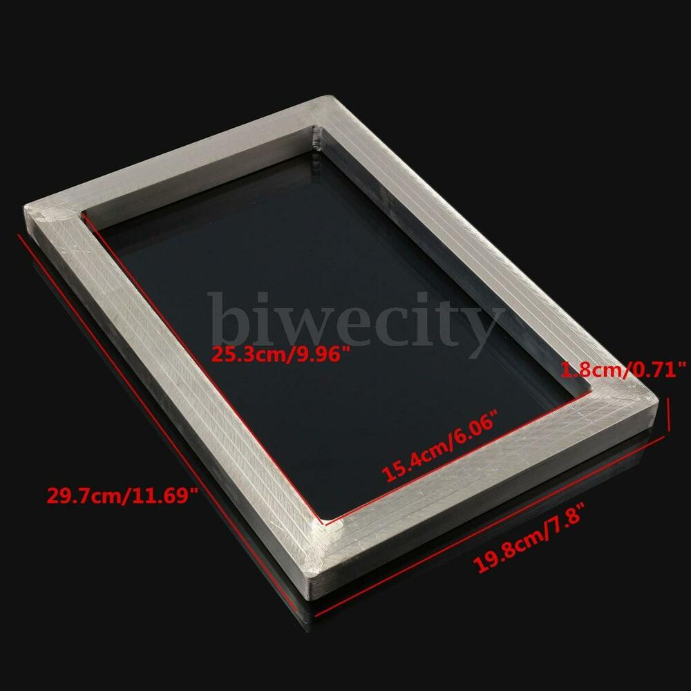 1pc Silk Screen Printing Aluminum Alloy Frame Outside Size