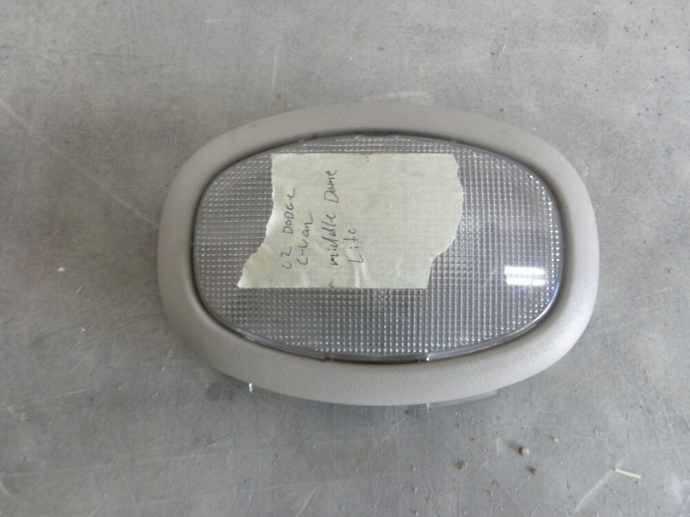 Details about HeadLiner Dome Light Interior Middle 01 02 03 Dodge  Caravan 699529bc0e