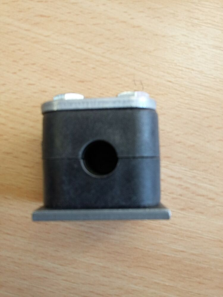 Metric stauff pipe clamp mm to pa black ebay