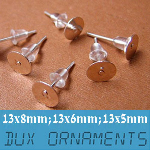 1000pcs surgical stainless steel flat pad post earring for Do pawn shops buy stainless steel jewelry