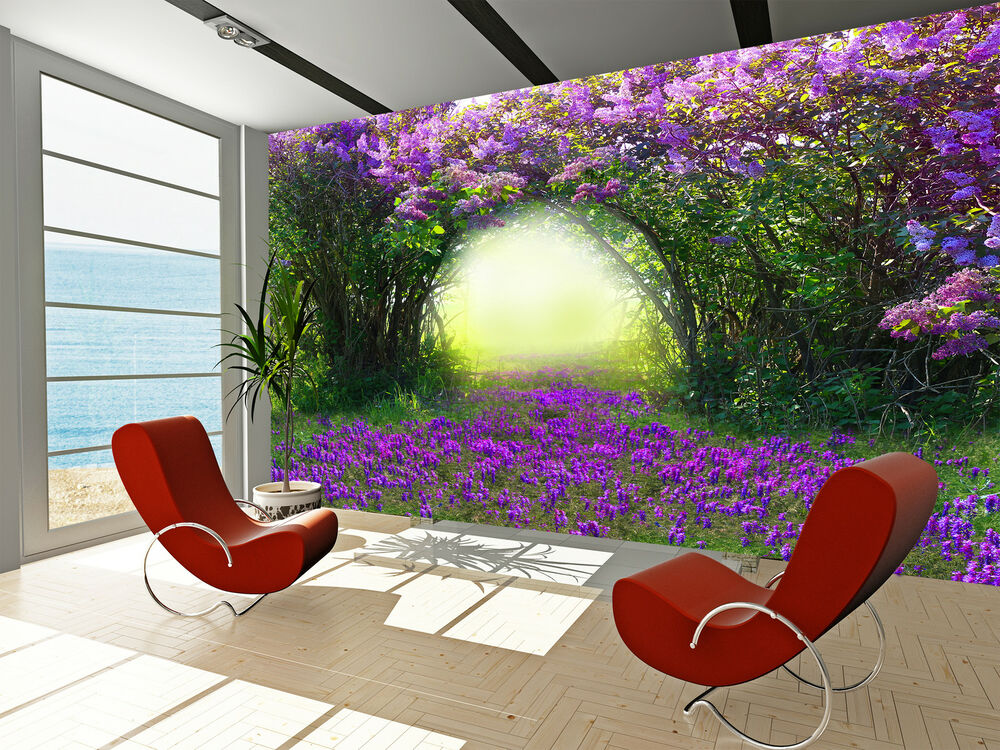 Magic Spring Forest Wall Mural Photo Wallpaper Giant Decor