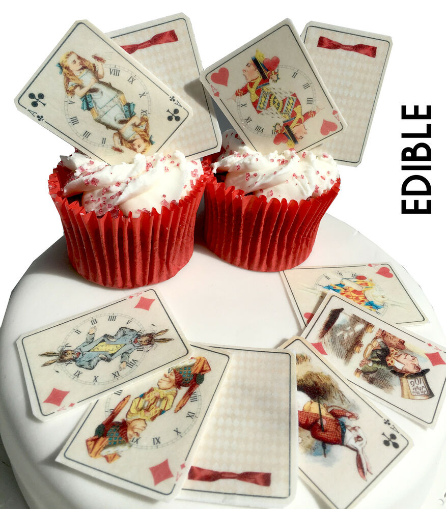 edible cake decorations 25 in edible cards cupcake 3819