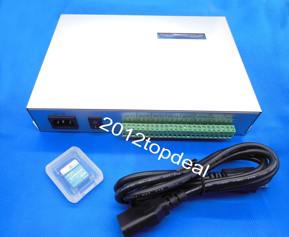 T 300k Sd Card Led Pixel Controllerws2812b Ws2801 Lpd8806 Strip The Strips In My Device Use Controller Uses A Module 8000 702756291359 Ebay