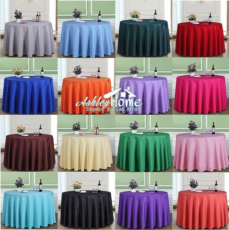 Various Colors Shapes amp Sizes Pure Color Table Cloth For  : s l1000 from www.ebay.com.au size 755 x 758 jpeg 143kB