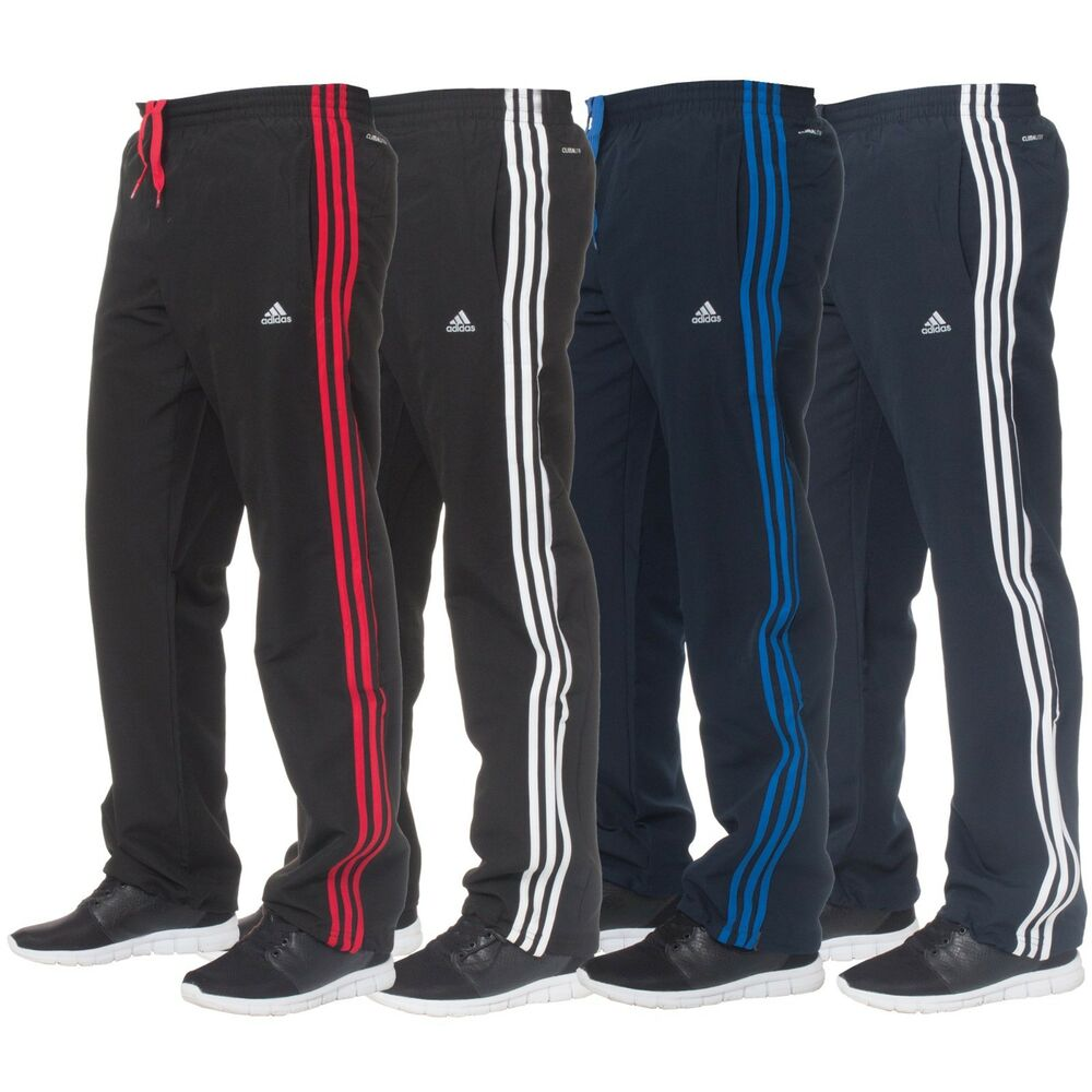 adidas climalite mens classic 3 stripe tracksuit bottoms. Black Bedroom Furniture Sets. Home Design Ideas