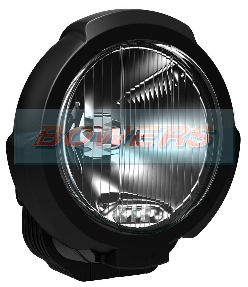 sim 3229 7 inch black round halogen driving spotlight spotlamp led sidelight ebay. Black Bedroom Furniture Sets. Home Design Ideas