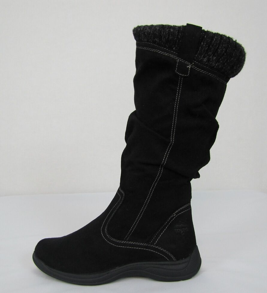 totes womens boots baxter cold weather black boots sizes 6