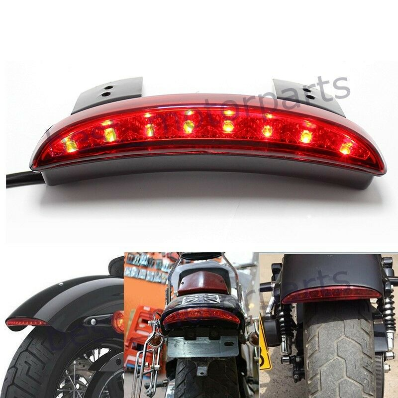 CUSTOM MOTORCYCLE INTEGRATED 8LED TAILLIGHT BLINKE SIGNALS