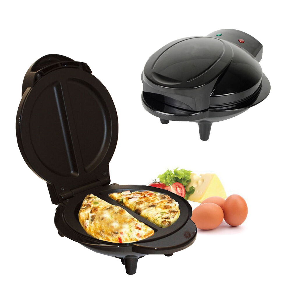 800w 1000w Electric Non Stick Omelette Maker Frying Pan