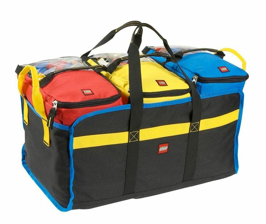 Lego Organizer Toy Tote 4 Pc For Building Blocks Travel