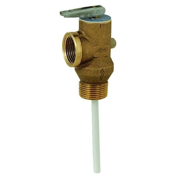 how to change safety valve on a hot water heater