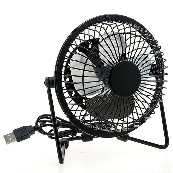 mini ventilateur bureau usb portable pour ordinateur pc portable angle ajustable ebay. Black Bedroom Furniture Sets. Home Design Ideas