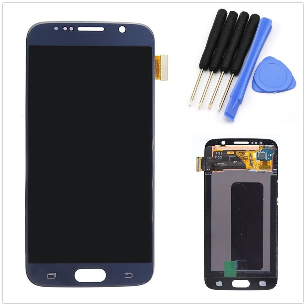 Blue Lcd Display Touch Screen Glass Digitizer Assembly Fr