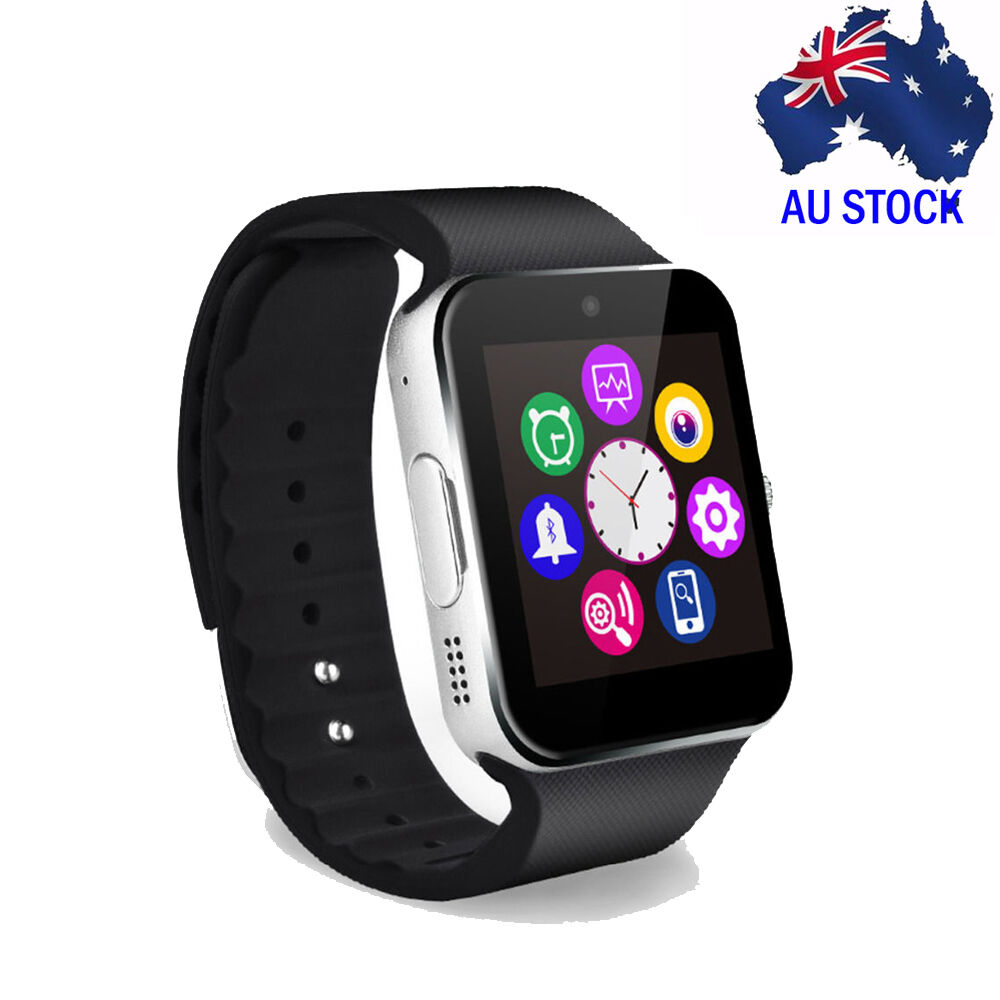 smart iphone watch bluetooth silver smart touch screen phone mate gprs 1588