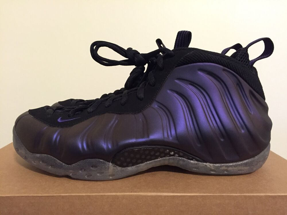 NEW Nike Air Foamposite One Eggplant Size 9.5 US  314996 051