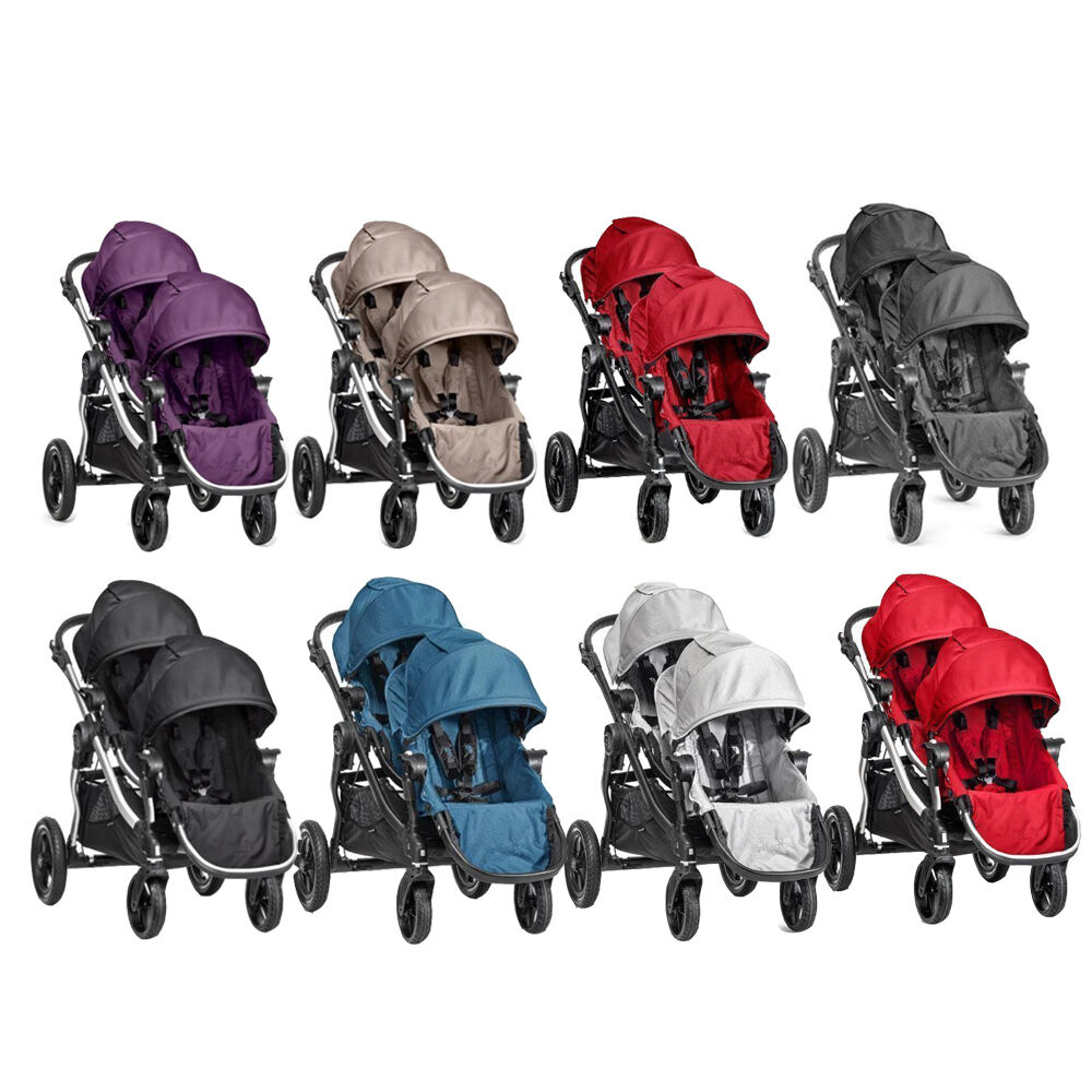 image of baby jogger city select lux stroller in granite