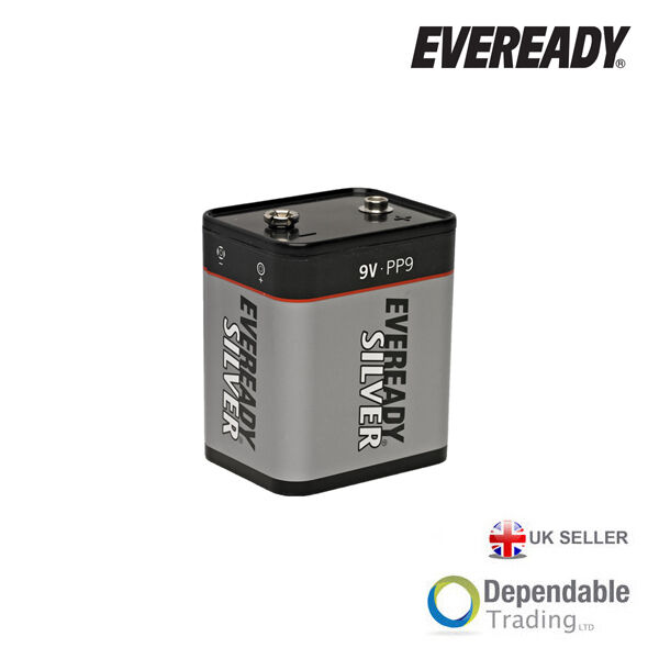 eveready silver pp9 9 volt 9v battery roberts radio transistor radio battery ebay. Black Bedroom Furniture Sets. Home Design Ideas