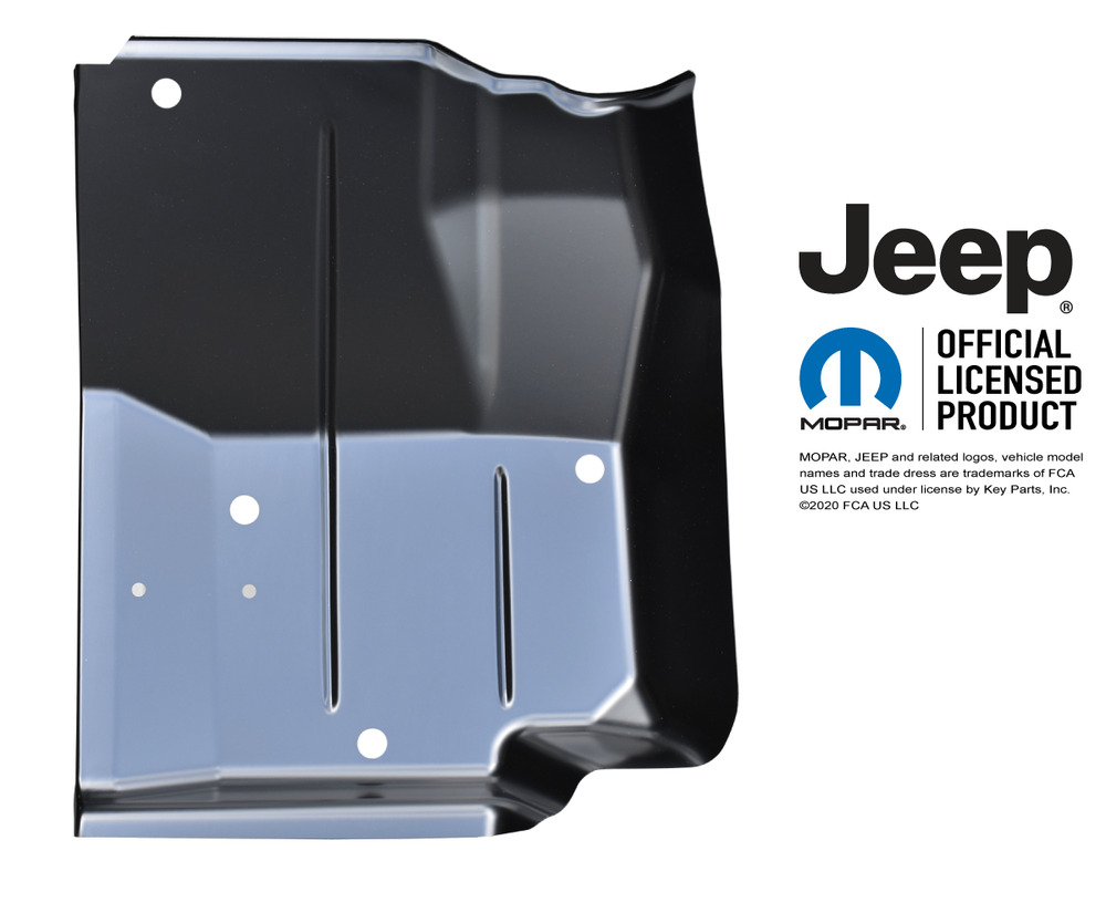 Jeep Wrangler And Cj7 Oe Style Front Floor Pan Panel Front