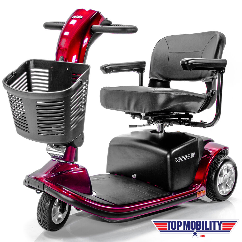 Pride Mobility Victory 9 Scooter 3 Wheel Sc609 Brand New