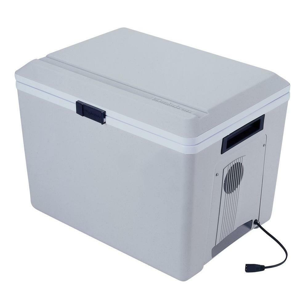 Coolers Electric Portable Heater : Qt v electric camping portable car rv travel fridge