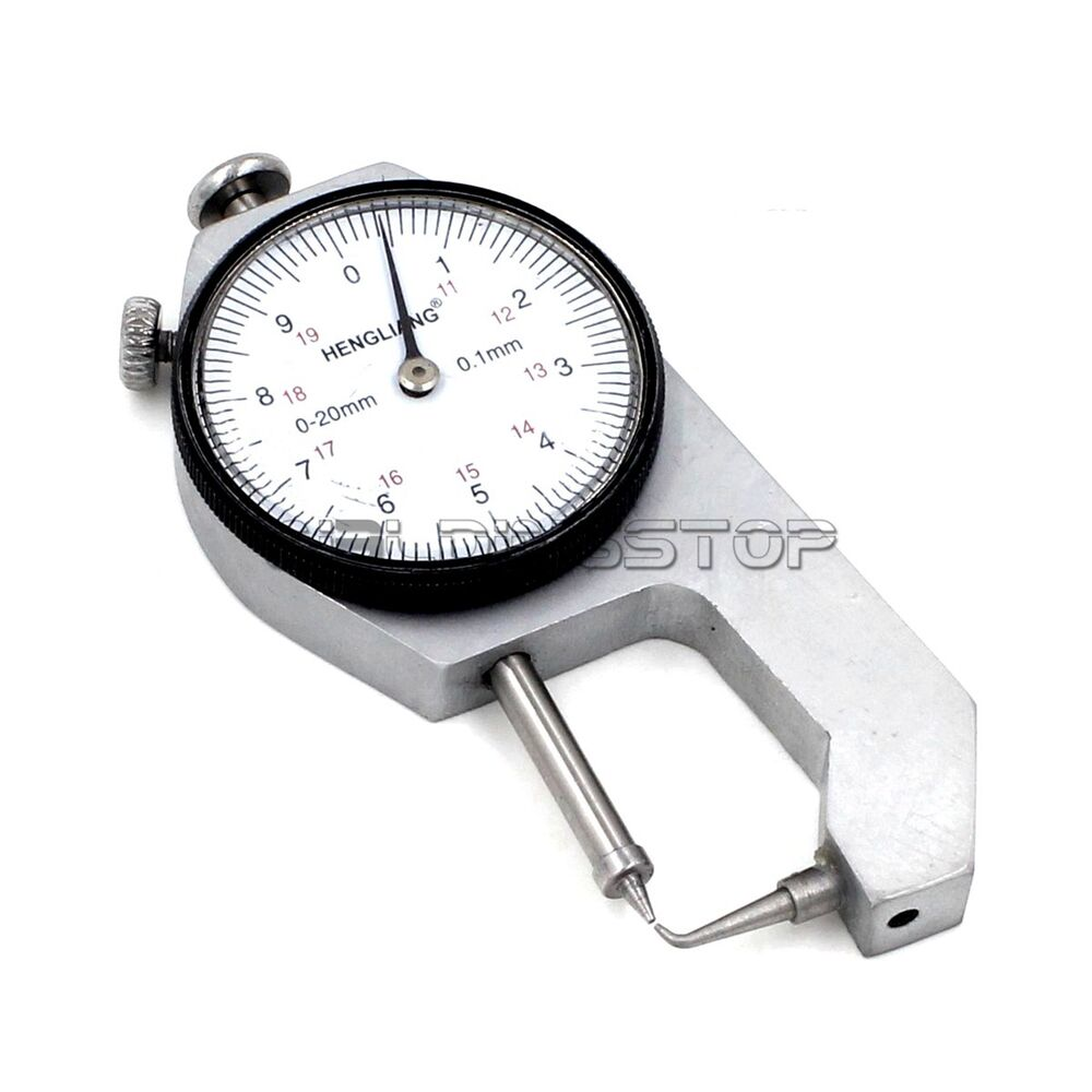 INSPECTION DIAL THICKNESS GAUGE GAGES / 0.1mm X 20mm