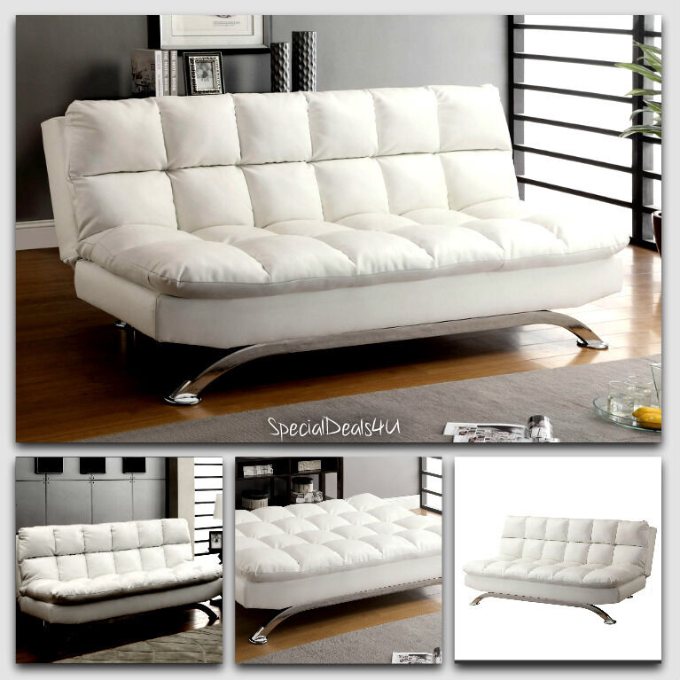 Sofa Bed Sleeper Split Back Couch Home Furniture Room
