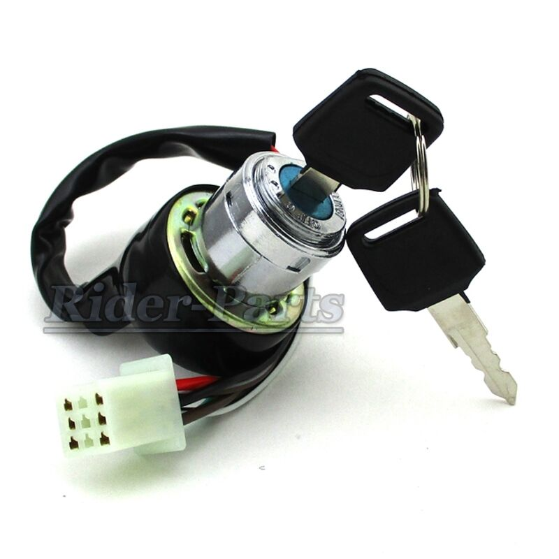6 Pins Wires ATV Ignition Key Switch For Kazuma Redcat