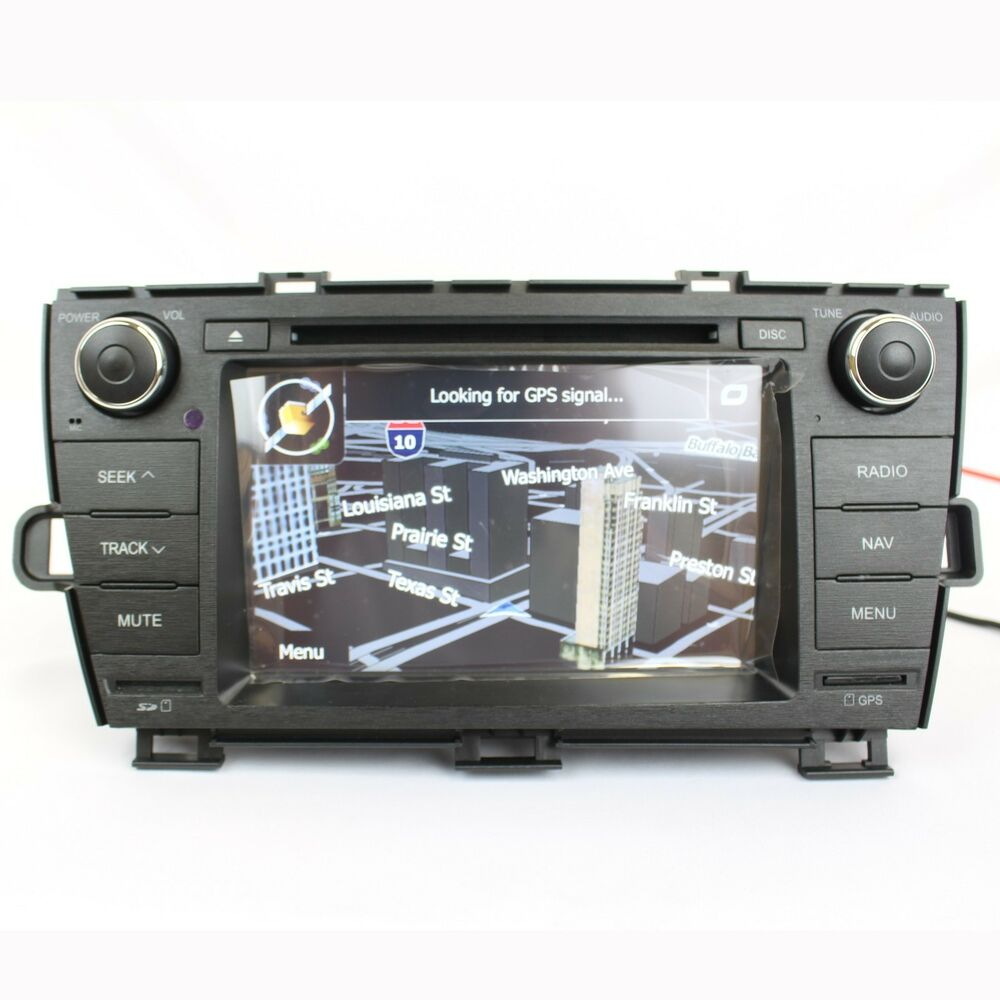 rosen ds ty1070 toyota 2010 2012 prius oem 7 lcd dvd. Black Bedroom Furniture Sets. Home Design Ideas