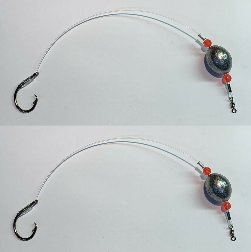 Drum bottom fishing rig red fish live bait rig 3oz for Red drum fishing rigs