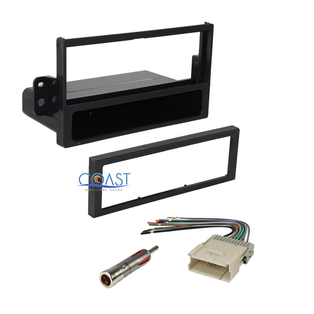 car stereo radio dash kit wire harness antenna for saturn. Black Bedroom Furniture Sets. Home Design Ideas