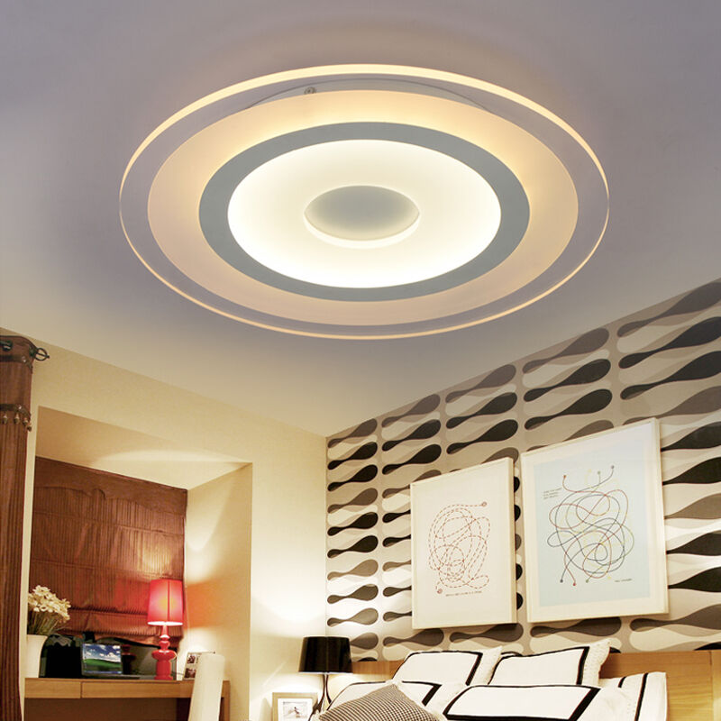 Lighting Fixtures For Home: Modern Acrylic LED Ceiling Recessed Lighting Home Office