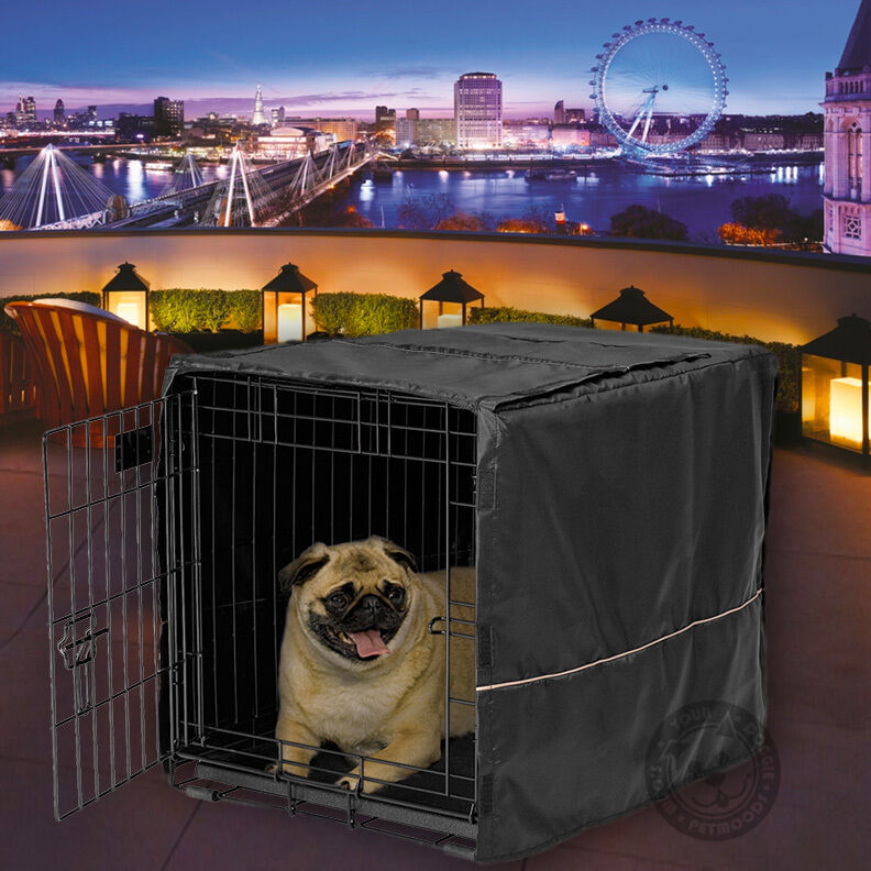 how to build a dog kennel cover