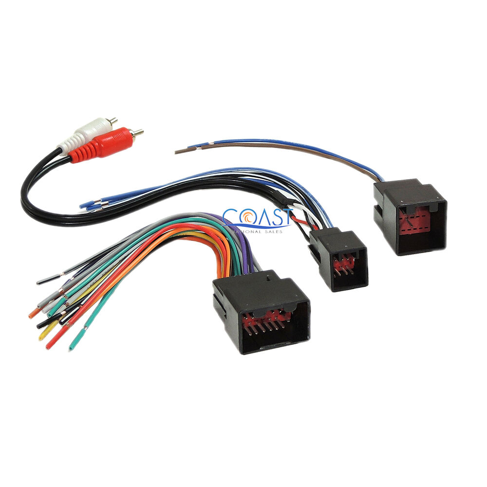 Radio Wiring Harness Metra : Metra car radio stereo wiring harness for up ford