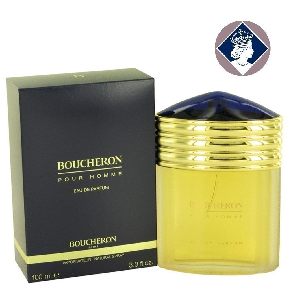 boucheron pour homme 100ml eau de parfum spray men edp perfume fragrance ebay. Black Bedroom Furniture Sets. Home Design Ideas