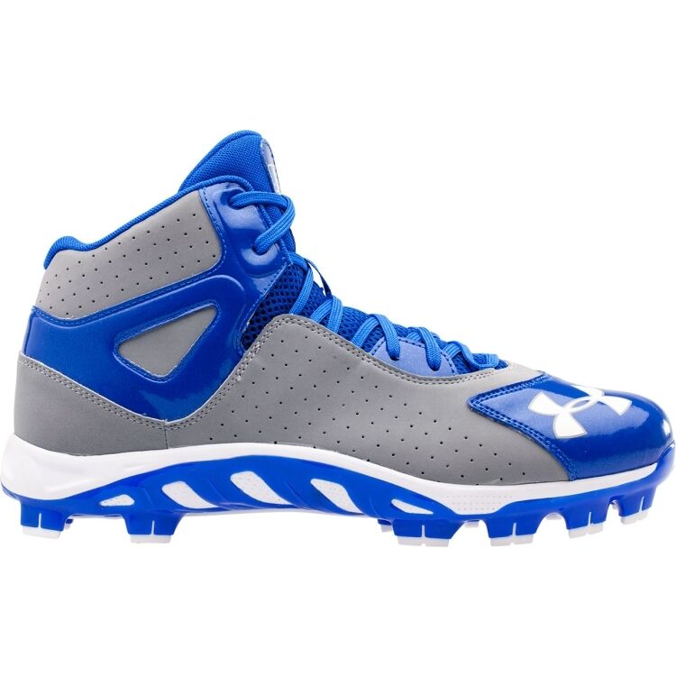 Under Armour Spine Heater Mid TPU Men's Baseball Cleats ...