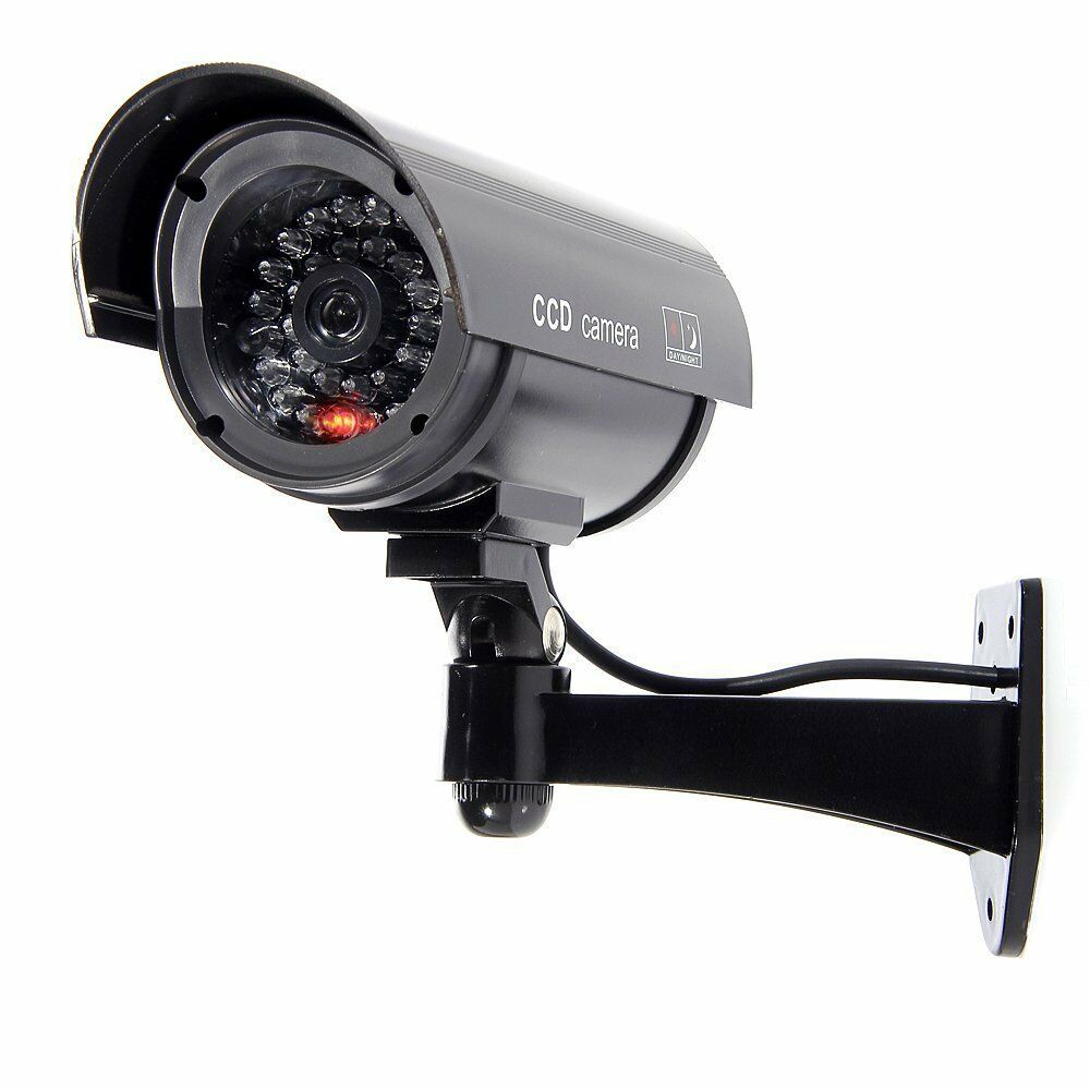 C maras simuladas seguridad de la vigilancia exterior for Interior home security cameras