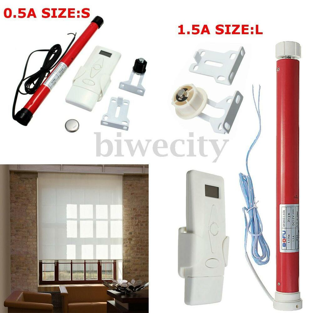 2 Size 12v Diy Electric Roller Blind Shade Tubular Motor