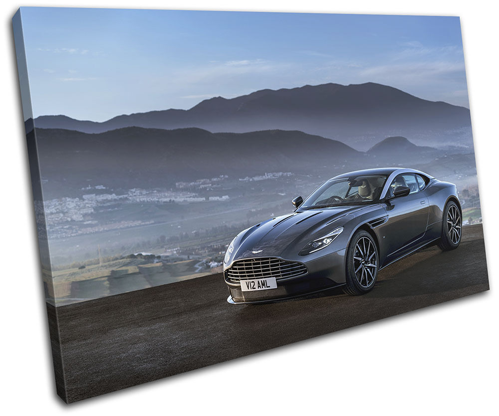 aston martin db11 luxury cars single canvas wall art picture print