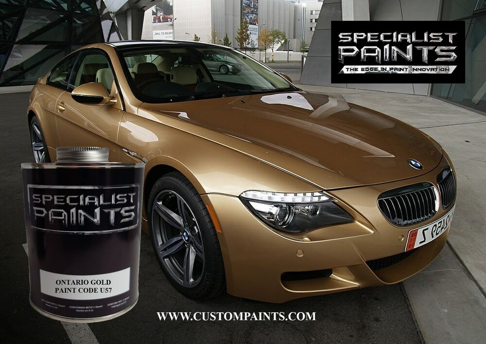 Pint Kit Of Bmw Ontario Gold Motorcycle Automotive Hotrod Ppg Rhebay: Bmw Paint Code Location On Motorcycles At Gmaili.net