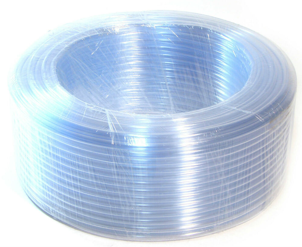 100ft 30 metres pvc clear hose tube flexible air water. Black Bedroom Furniture Sets. Home Design Ideas
