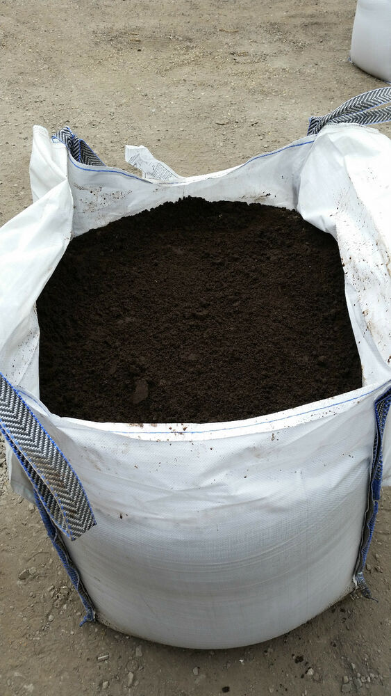 1 jumbo tonne bulk bag of best quality top soil for Bags of topsoil