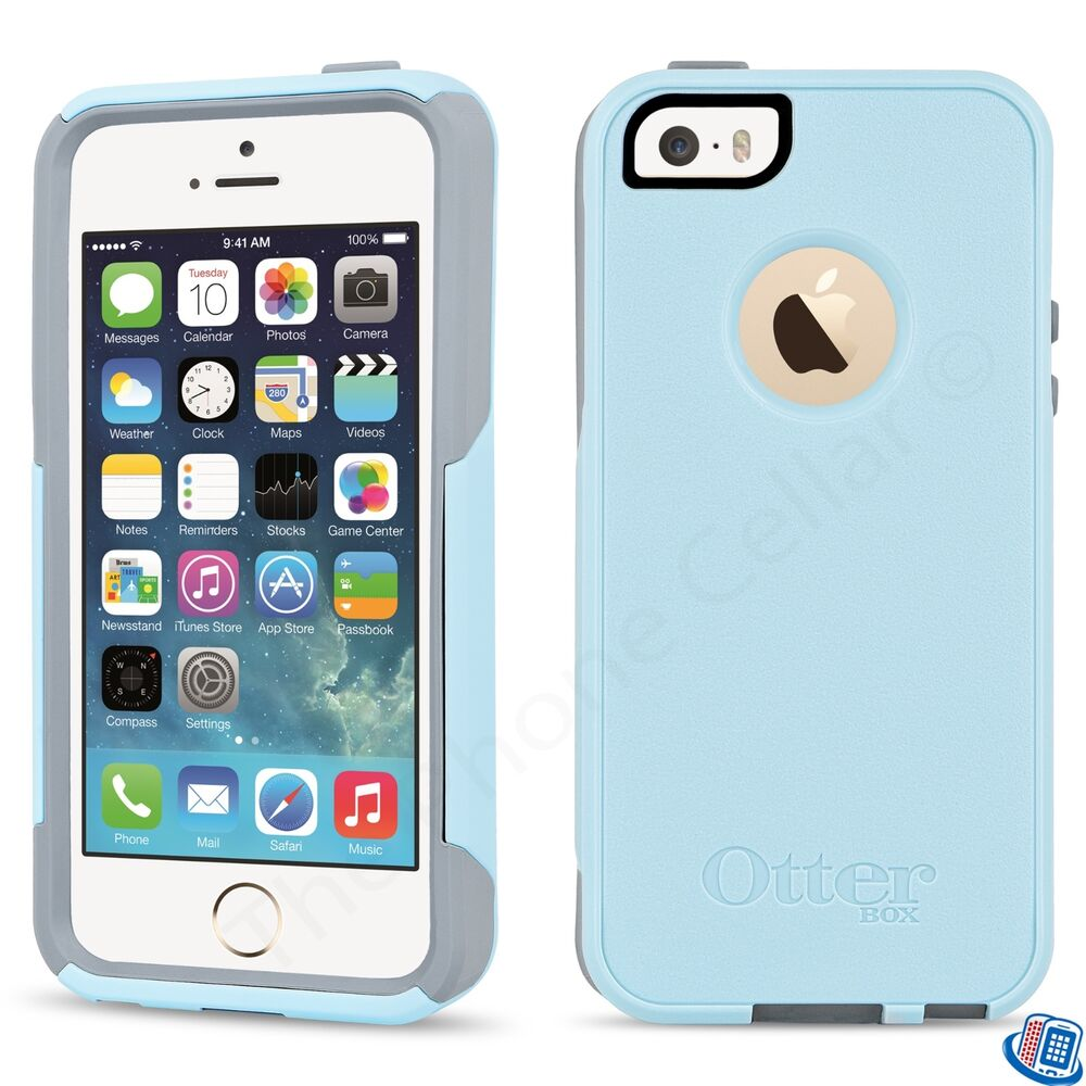 iphone 5s case new oem otterbox commuter series bahama way blue for 1074