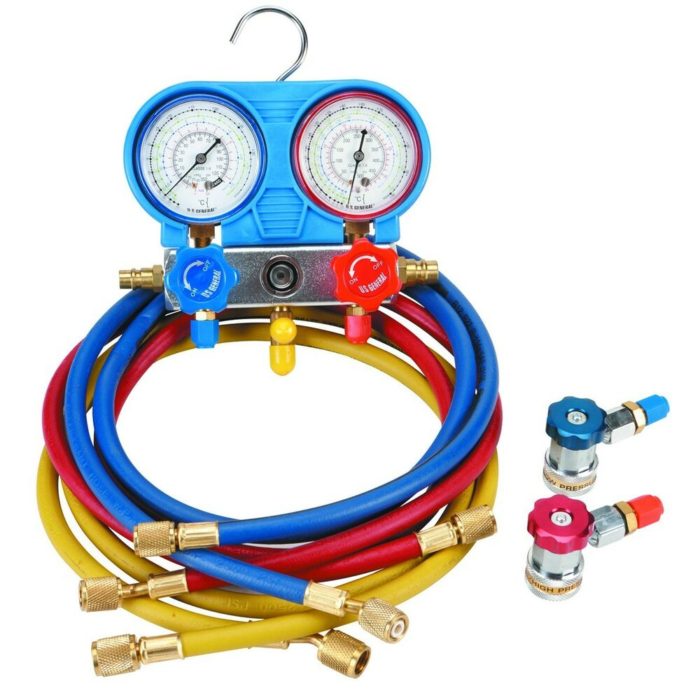 A C Ac Manifold Gauge Set Car Automotive Ac Air