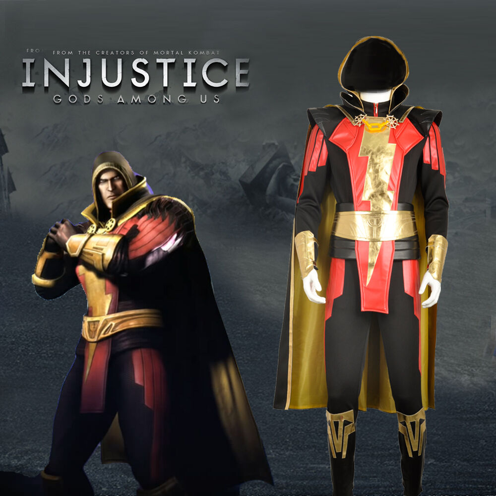 Injustice: Gods Among Us Cosplay Costume Captain Marvel ...