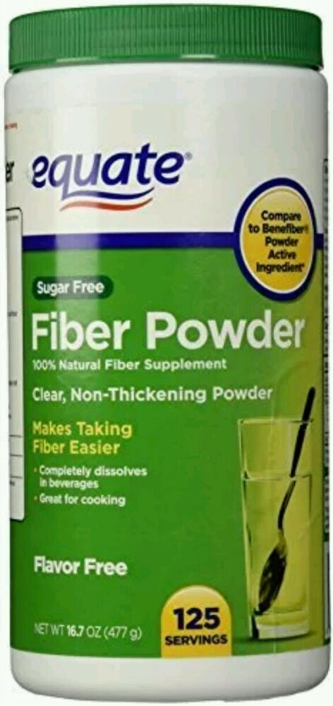 Clear soluble fiber supplement
