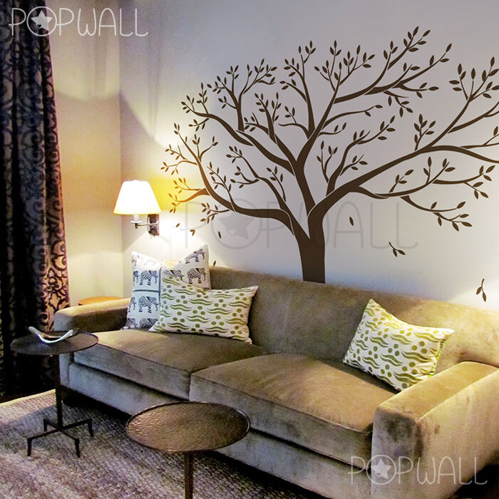 Extra Large Memory Tree Big Family Photo Tree Wall Decal