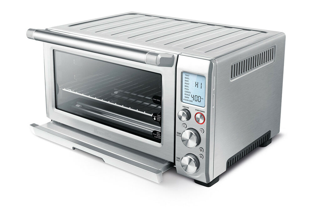 Countertop Convection Oven Breville : Breville Smart Oven Pro BOV845BSS Convection Toaster Oven with Element ...