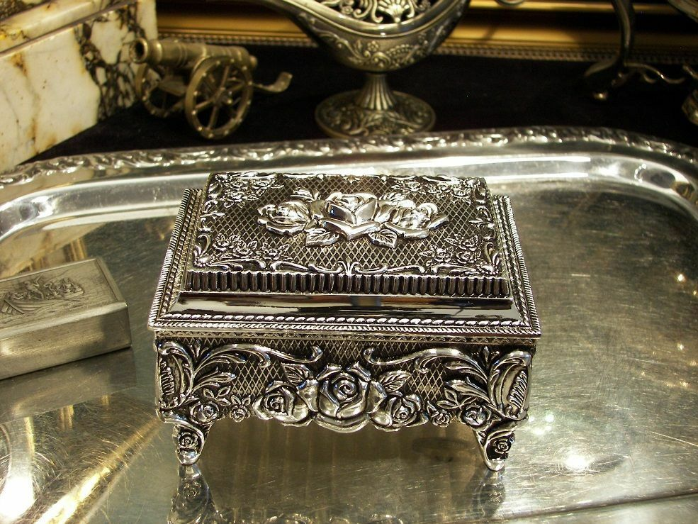 Sorry, that Vintage antique metal jewelry boxes