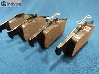 mazda 3 and mazda 5 new oem rear brake pads c2y3 26 48zb ebay. Black Bedroom Furniture Sets. Home Design Ideas