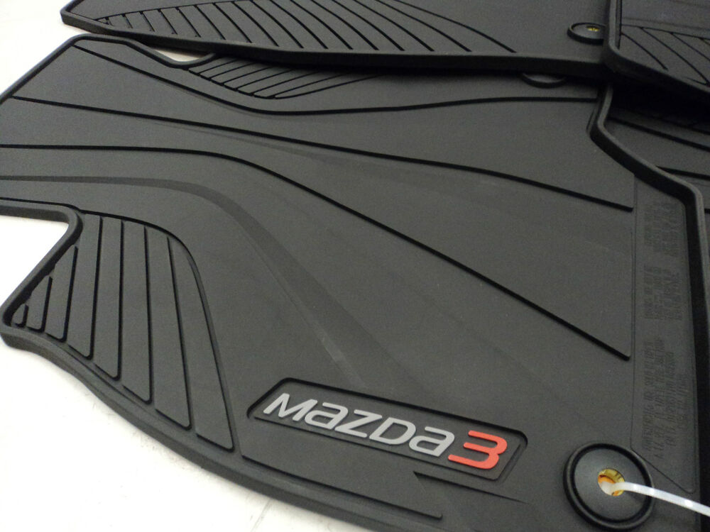 Mazda  Rubber Car Mats